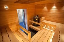 Aaltolauteet saunaseuran saunassa